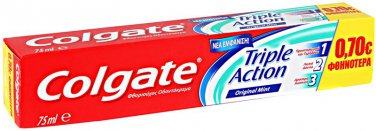 Toothpaste Colgate Triple Action 75ml
