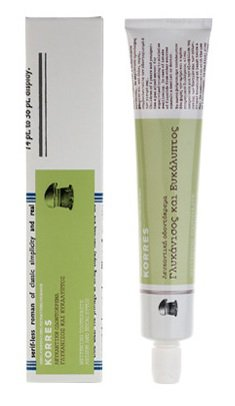 KORRES Whitening toothpaste with fresh anise flavor and eucalyptus