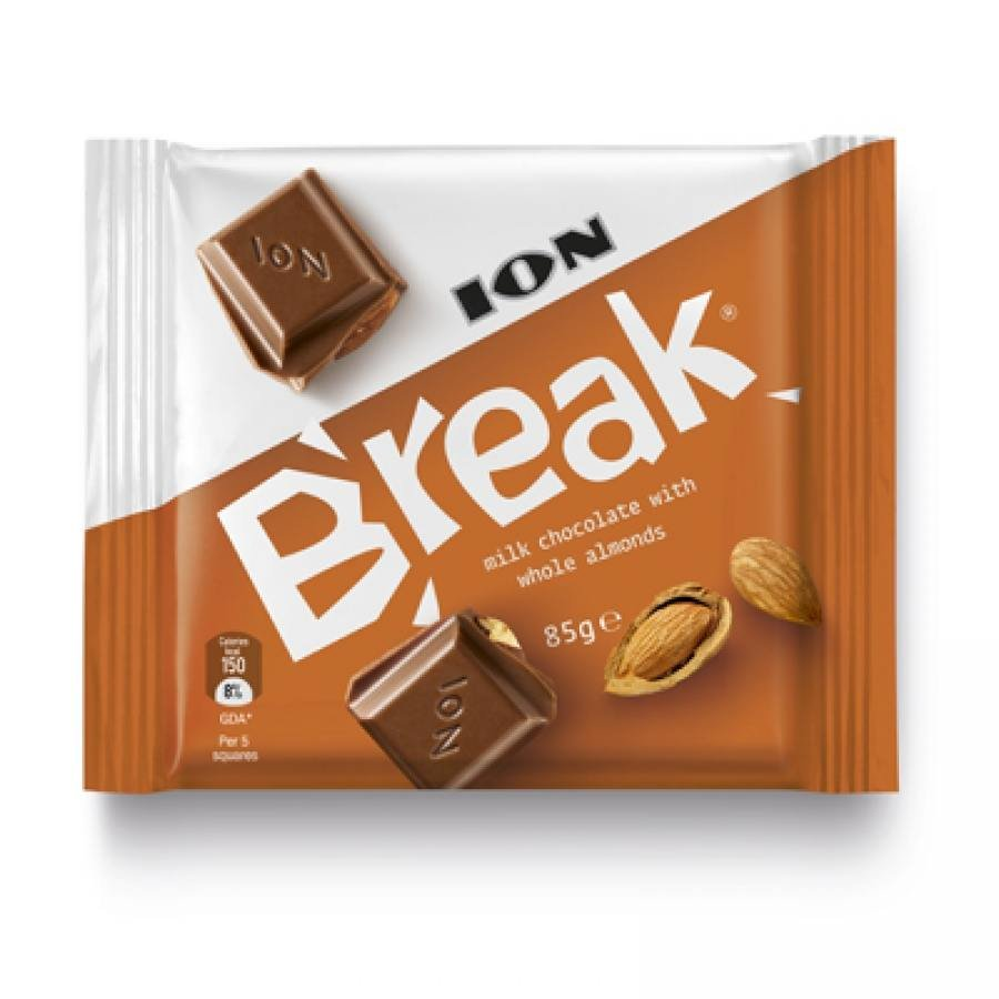 ION Break with almonds 85gr(pack of 3)