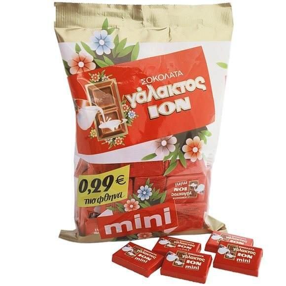 Ion Milk Chocolates 400gr