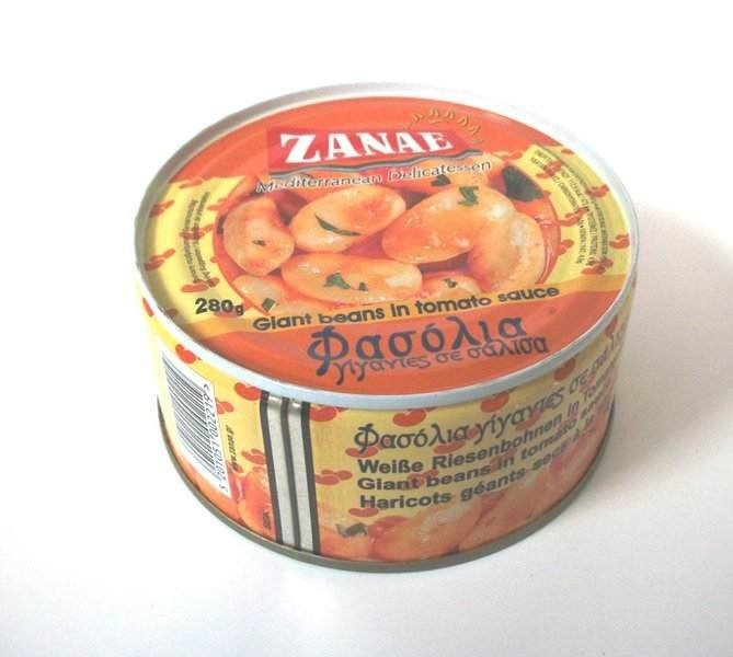 ZANAE GREEK GIANT BEANS IN TOMATO SAUSES 280gr