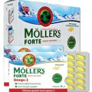 Moller's Forte Fish Oil & Fruit Loaf Rich in Ω3 Fatty Acids 150caps
