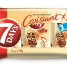 7 Days Croissant Cacao 3 x 70g