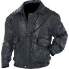 Napoline™ Roman Rock™ Design Genuine Leather Jacket (Size: Small)