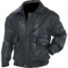 Napoline™ Roman Rock™ Design Genuine Leather Jacket (Size: Medium)