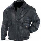 Napoline™ Roman Rock™ Design Genuine Leather Jacket (Size: 3X)