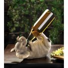 PLAYFUL ELEPHANT WINE HOLDER