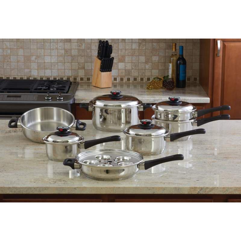 Maxam® 9-Element Cookware