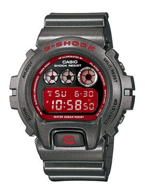 Casio G-Shock watch DW6900SB-8   Shock resistant DW-6900SB