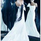 Black Opera Lenth Bridal Wedding Gloves