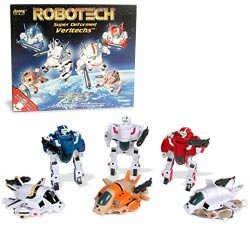 Robotech Super Deformed Figures (Set of 6)