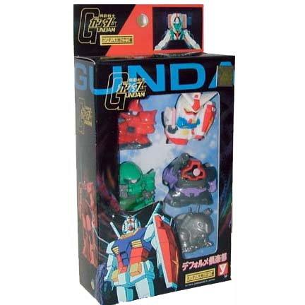 Gundam Super Deformed 5 Piece Set
