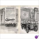 World War I Oldsmobile automobile 1918 double page ad E111