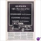 Auburn Salon automobile 1933 full page ad E125