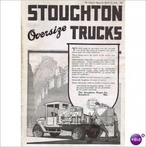 Stoughton Wagon Company Stoughton Wi 1920 full page ad E130