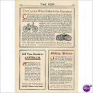 Iver Johnson Arms & Cycle Fitchburg mass 1912 ad American products to be sold in Australia E132
