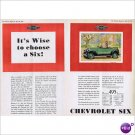 Chevrolet Sport Roadster 1930 double page color ad E-140