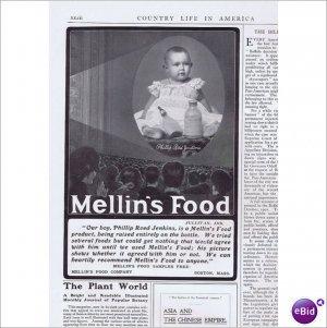Mellins Food Phillip Reed Jenkins Sullivan In 1902 ad E148