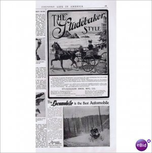 Studebaker Brothers Carriage San Francisco 1902 ad E151