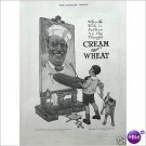 Cream of Wheat Rastus boy arist dog 1911 full page ad E179