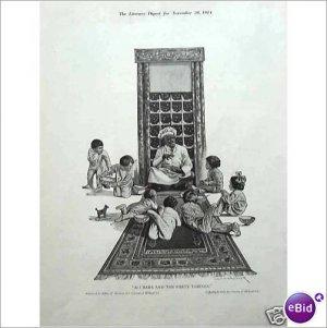 Cream of Wheat Rastus kids Ali Baba 1914 full page ad E180