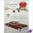 Chrysler Imperial 1952 full page color ad  E186