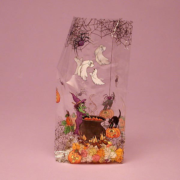 "Witches Brew Cello Bags 100 cnt $19.99, 3.5"" x 7.5"" size"