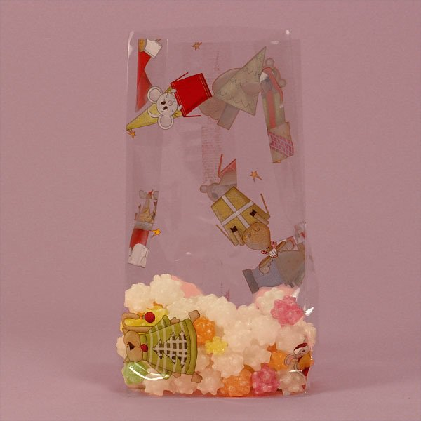 """Christmas Critters Cello Bags 100 cnt $19.99, 3.5"""" x 7.5"""" size"""