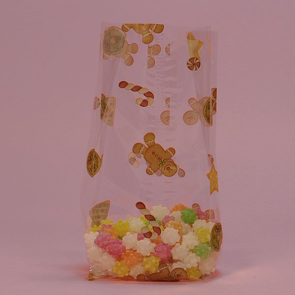 """Gingerbread Cello Bags 100 cnt $19.99, 3.5"""" x 7.5"""" size"""