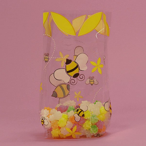 """A Little Honey Bags, 100 cnt Cell Bags 3.5"""" x 7.5"""" Size"""