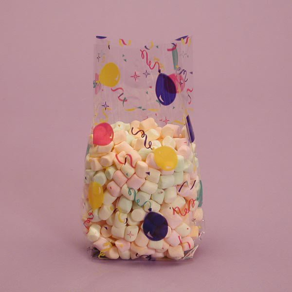 """Celebration Party Favor Bags 100 cnt, 3.5"""" x 7.5"""" Size"""