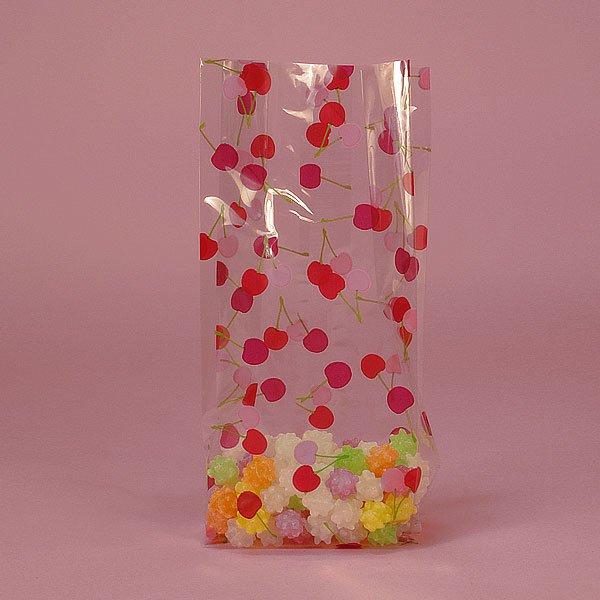 "Bag of Cherries Cello Bag 100 cnt, 3.5"" x 7.5"" Size"