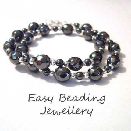 GORGEOUS FACETED HEMATITE