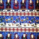 Debbie Mumm Old World Santa Stripe Fabric 1 yd.