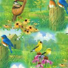 Spring Birds Fabric FQ