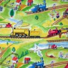 Circus Train Cotton Quilt Fabric FQ