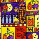 HALLOWEEN PATCH  JEEPERS CREEPERS Fabric FQ