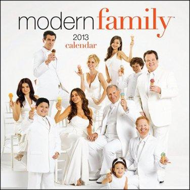 New  Modern Family 2013 Wall Calendar