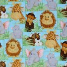 Patty Reed Jungle Babies fabric Fat Quarter