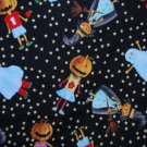 Halloween kids in costumes Fabric FQ Fat Quarter