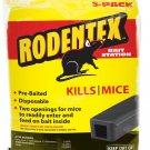 RODENTEX 3-PACK BAIT STATION