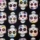 Sugar Skulls  Fabric FQ Fat Quarter