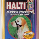 HALTI Dog Headcollar Collar Size 5 BLACK Stop Pulling
