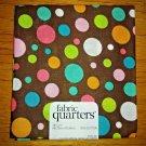 Fabric Quarters 100% Cotton Pre Cut Fat Quarter FQ -  Brown Dot