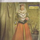 Butterick Sewing Pattern 4375 Tudor Historical Costume Misses Size 14 16 18 20