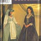 Simplicity Sewing Pattern 7756 Medieval Renaissance Dress Costume Misses Size 10 12 14