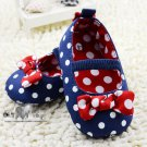 Girls lovely with bowknot ribbon Pre walk/ pre-walking Shoes
