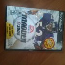 Madden 2005 PS2 Game