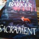 Clive Barker Sacrament book