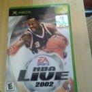 NBA Live 2002 XBOX game